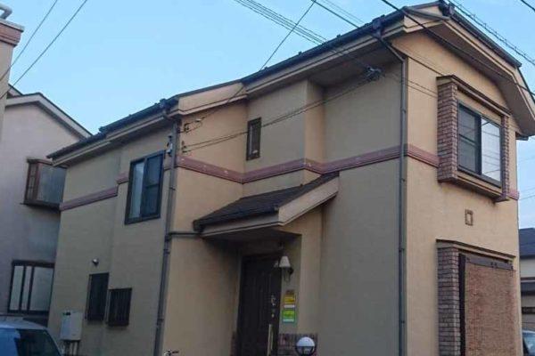 東京都府中市 外壁塗装・屋根塗装・付帯部塗装・プレミアムシリコン