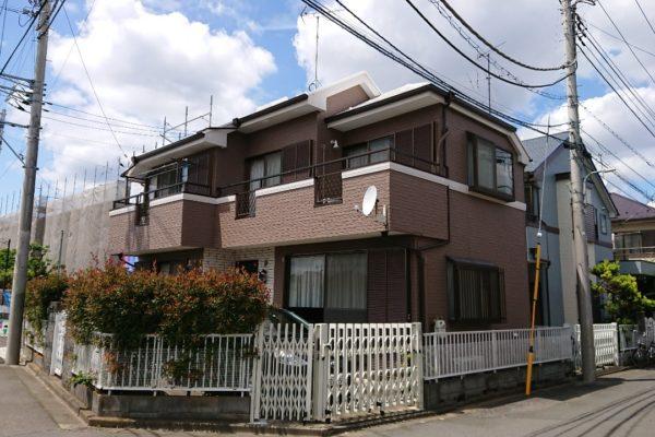 東京都小金井市 屋根塗装 外壁塗装 コーキング工事