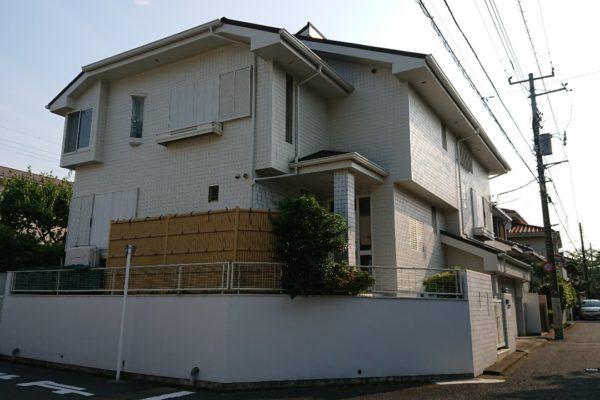 東京都府中市 外壁塗装 屋根葺き替え工事 付帯部塗装