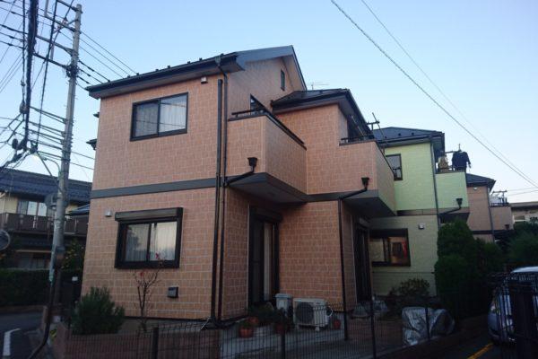 東京都小金井市 外壁塗装 屋根塗装 シーリング工事