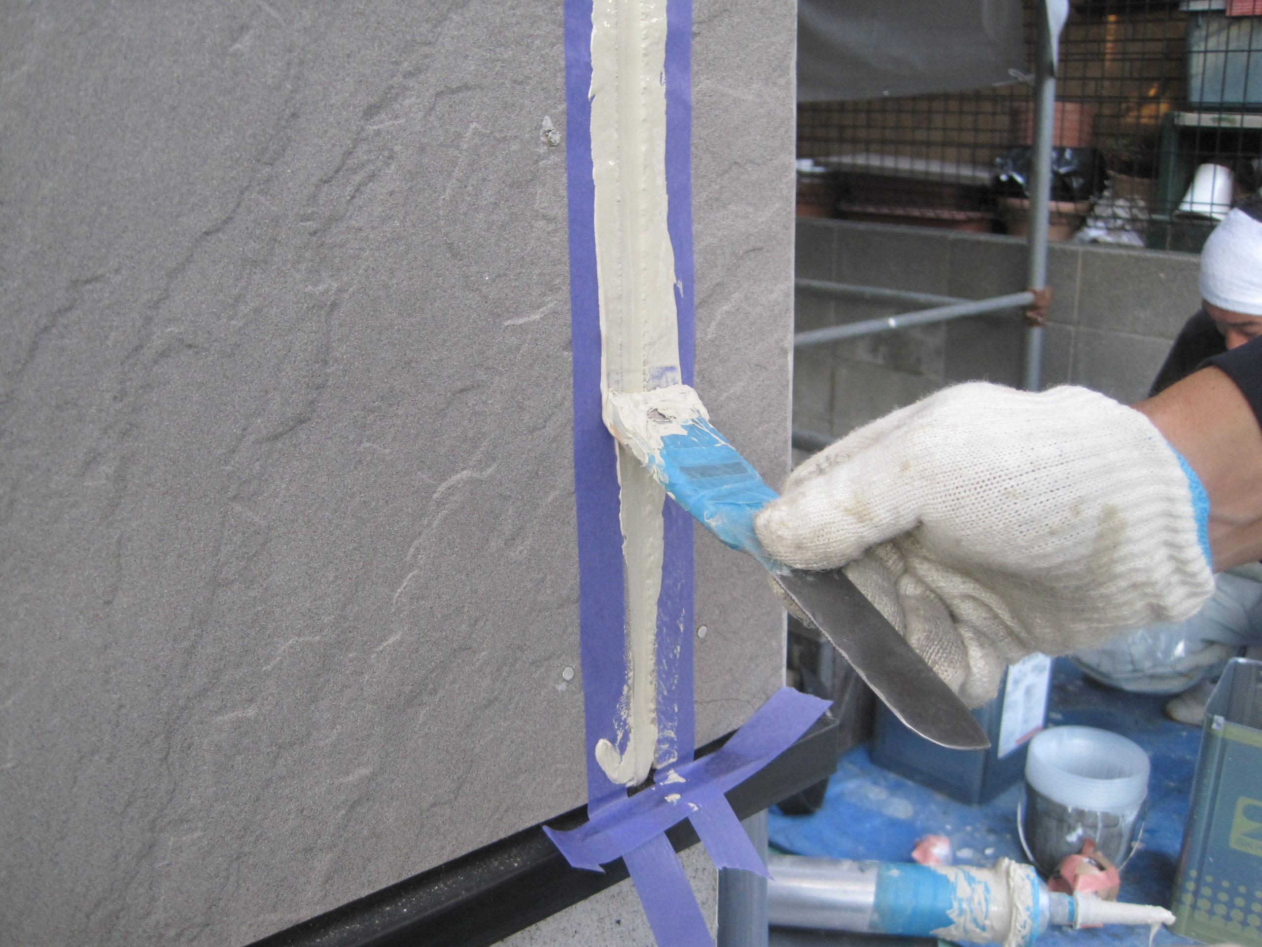 東京都三鷹市 外壁塗装 シーリング コーキング 耐久性