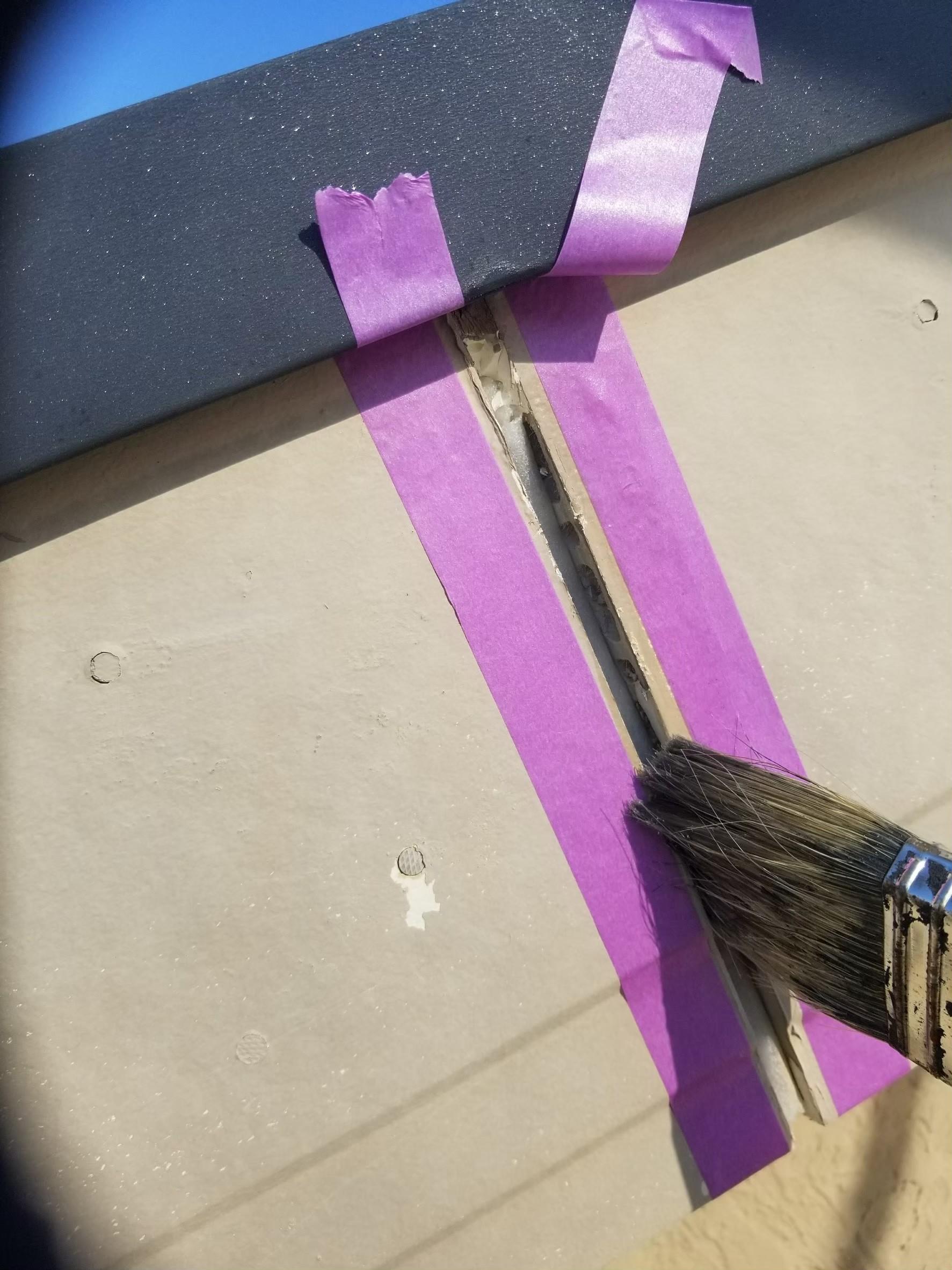 破風板補修の画像