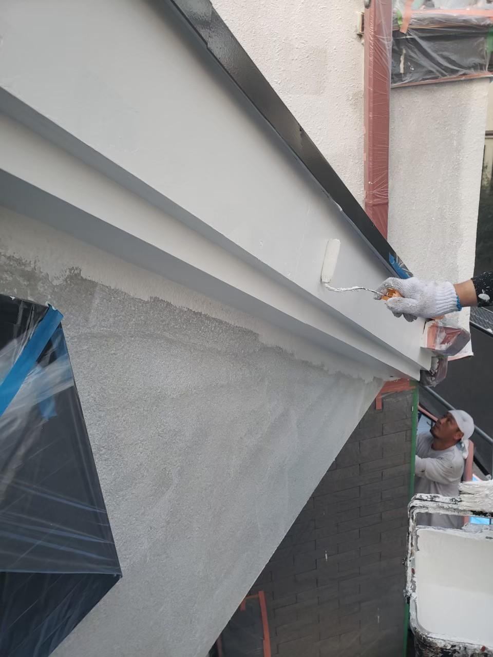 破風塗装の画像