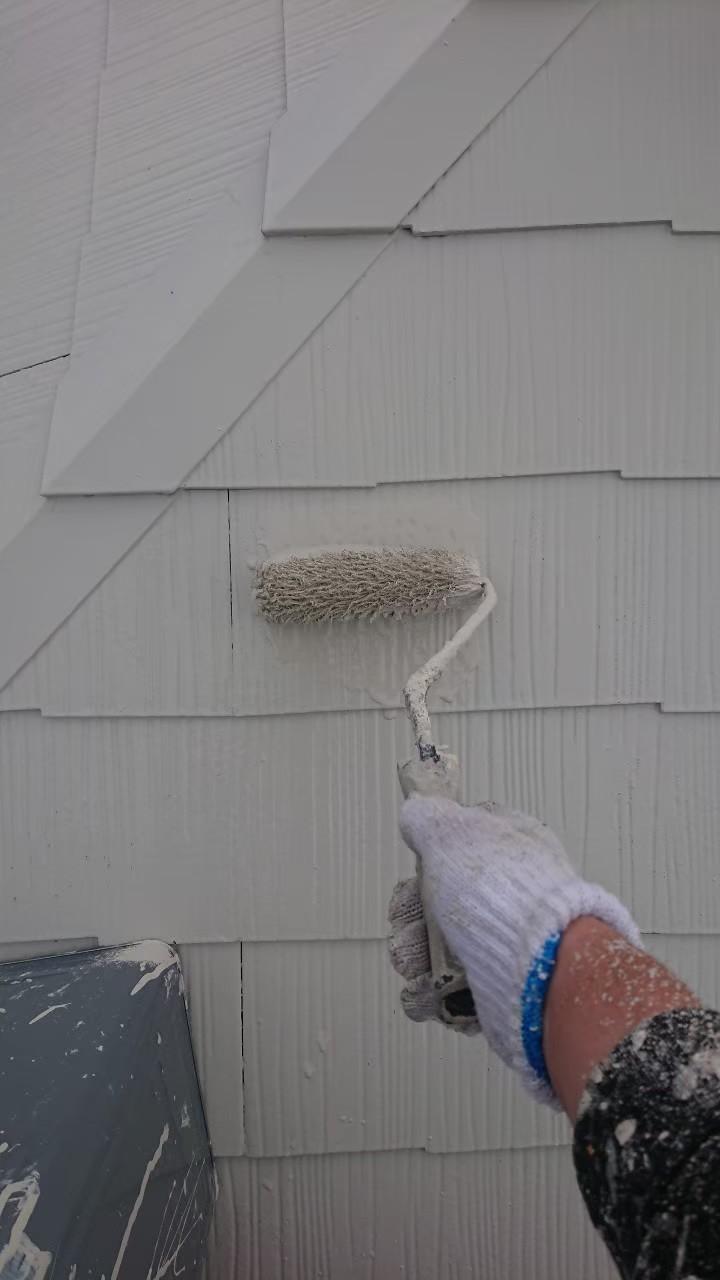 屋根仕上げ塗装の画像