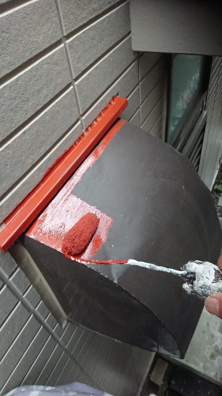 鉄部錆止め塗装の画像