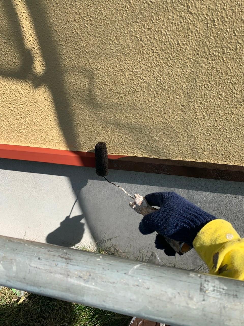 水切り塗装の画像