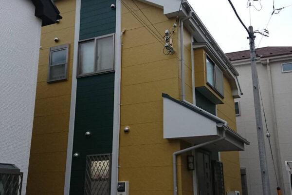 外壁塗装施工後の画像